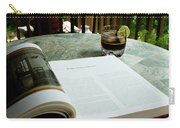 Bistro Table Study, Balcony Garden, Hunter Hill, Hagerstown, Mar Carry-all Pouch