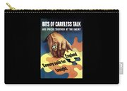 Bits Of Careless Talk Carry-all Pouch