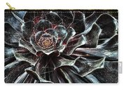 Black Aeonium Carry-all Pouch