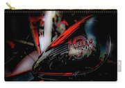 Black And Red Harley 5966 H_2 Carry-all Pouch