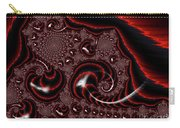 Black And Red Tornados Carry-all Pouch