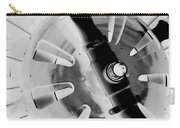Black And White Abstract 1 Carry-all Pouch