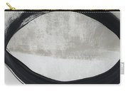 Black And White Abstract 2- Art By Linda Woods Carry-all Pouch