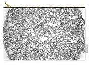 Black And White Abstract Background Carry-all Pouch