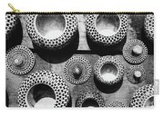 Black And White Abstract Pattern Beautiful Traditional Bowls Carry-all Pouch
