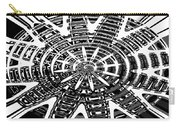 Black And White Abstracts Carry-all Pouch