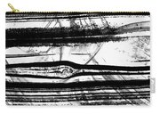 Black And White Art - Layers - Sharon Cummings Carry-all Pouch
