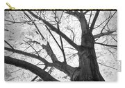 Black And White Autumn Tree  Carry-all Pouch
