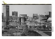 Black And White Baltimore Carry-all Pouch