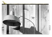 Black And White Barn Fixture 2 Carry-all Pouch