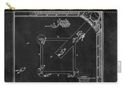 Black And White Baseball Game Patent Carry-all Pouch