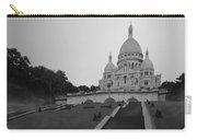 Basilique Du Sacre Coeur In Pre Dawn Paris Bw Carry-all Pouch