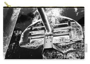 Black And White Basketball Art Carry-all Pouch