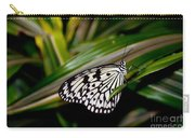Black And White Beauty Carry-all Pouch