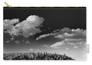 Black And White Blue Ridge Mountains Carry-all Pouch