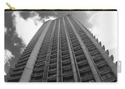 Black And White Brutalist Barbican Carry-all Pouch