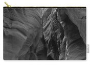 Black And White Buckskin Gulch Carry-all Pouch