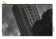 Black And White Buildings Carry-all Pouch