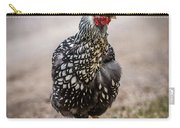 Black And White Chicken Carry-all Pouch