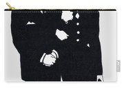 Black And White Couple Carry-all Pouch