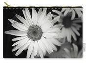 Black And White Daisy 1 Carry-all Pouch