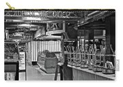 Black And White Diner Carry-all Pouch