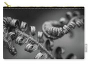 Black And White Ferns Carry-all Pouch