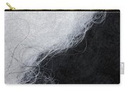 Black And White Fibers - Yin And Yang Carry-all Pouch