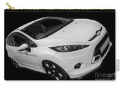 Black And White Ford Fiesta Carry-all Pouch