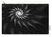 Black And White Fractal 080810c Carry-all Pouch