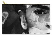 Black And White Frida Kahlo By Sharon Cummings Carry-all Pouch