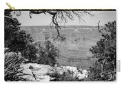 Black And White Grand Canyon 2 Carry-all Pouch