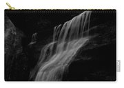 Black And White Hidden Falls Carry-all Pouch