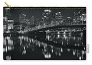 Black And White Lights Carry-all Pouch