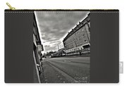 Black And White Lonely Road Carry-all Pouch