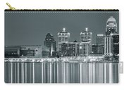 Black And White Louisville Carry-all Pouch