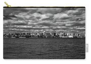 Black And White Mad Town Carry-all Pouch