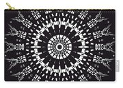 Black And White Mandala No. 1 Carry-all Pouch