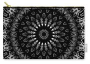 Black And White Mandala No. 2 Carry-all Pouch