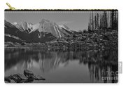 Black And White Medicine Lake Carry-all Pouch