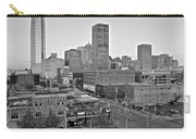 Black And White Okc  Carry-all Pouch