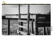 Black And White Old Time Dock Carry-all Pouch