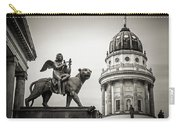 Black And White Photography - Berlin - Gendarmenmarkt Square Carry-all Pouch