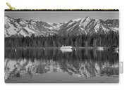 Black And White Reflection On Jackson Lake Wyoming Carry-all Pouch