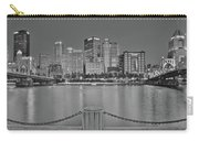 Black And White Riverfront 2017 Carry-all Pouch