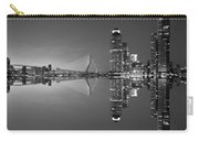 Black And White Rotterdam - The Netherlands Carry-all Pouch