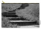 Black And White Steps Carry-all Pouch