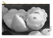 Black And White Still Life Squash 2 Carry-all Pouch