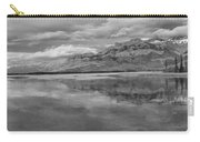 Black And White Talbot Lake Sunset Carry-all Pouch