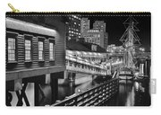 Black And White Tea Party Carry-all Pouch